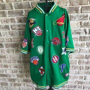 Dtek NBA All Stars Jacket Vintage 1974 Basketball